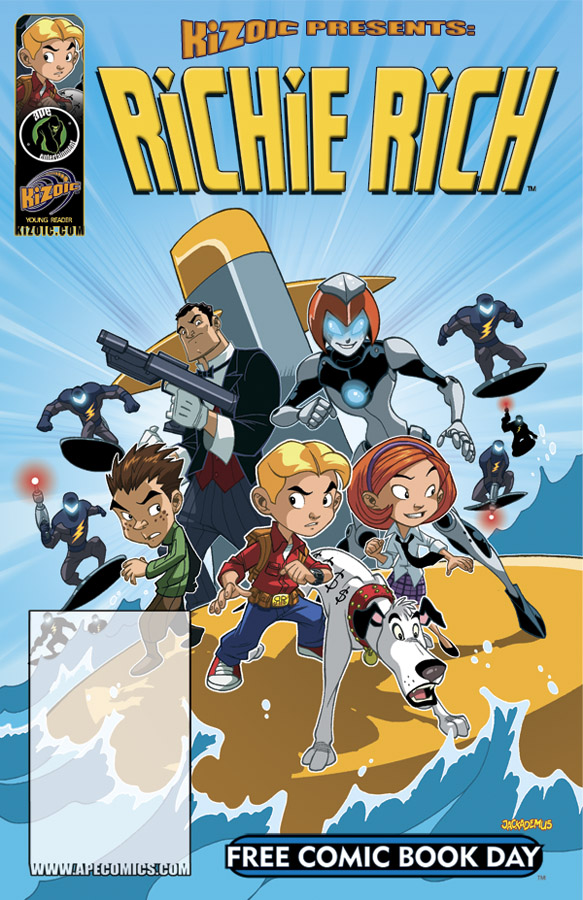RICHIE RICH - Free Comic Book Day Edition