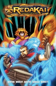 Redakai: Conquer the Kairu #2 Cover art by J.B. Bastos and Carlos Badilla
