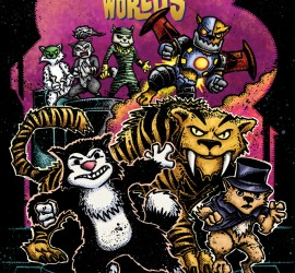 Scratch9: Cat of 9 Worlds #1 - Kevin Eastman Variant