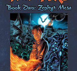 Heir to Fire: Zephyr Mesa - cover art by Mike Dubisch