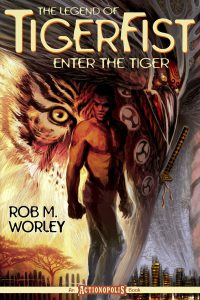 The Legend of TigerFist: Enter the Tiger - cover art by Michael Geiger
